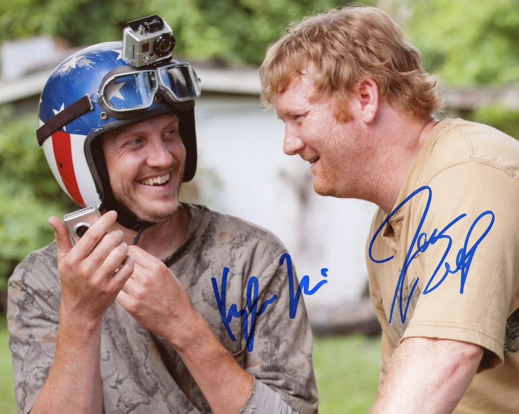 Into the Storm Signed Photo