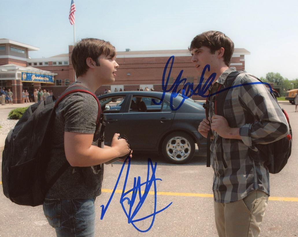 Nathan Kress & Max Deacon Signed Photo