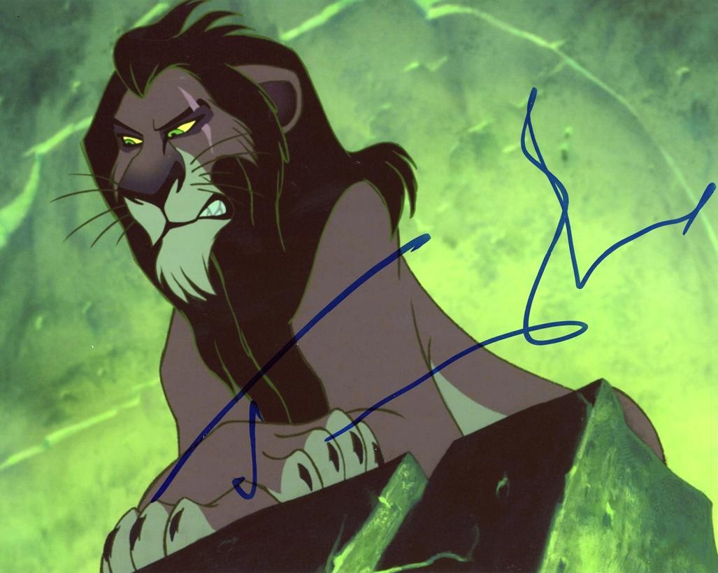 Jeremy Irons Signed Photo