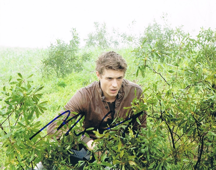 Max Irons Signed Photo