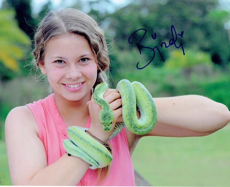 Bindi Irwin Signed Photo