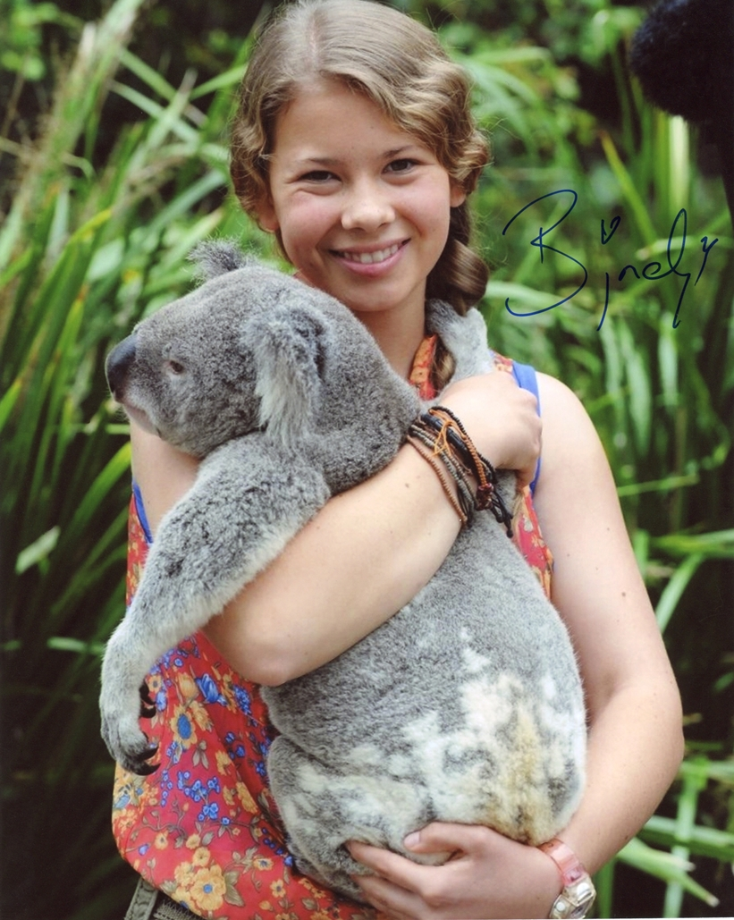 Bindi Irwin Signed Photo