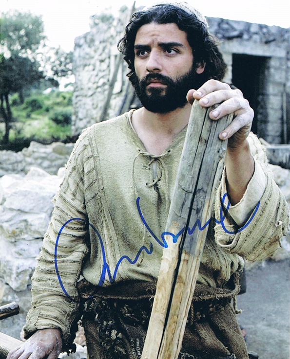 Oscar Isaac Signed Photo