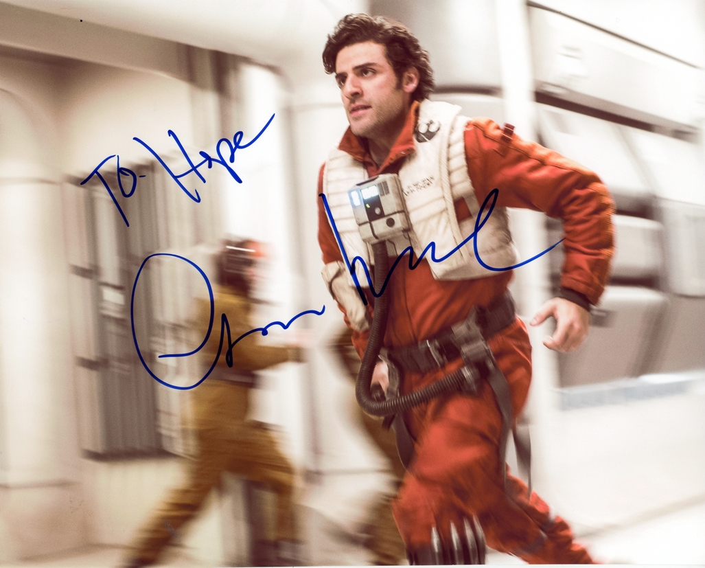 Oscar Isaac Signed Photo