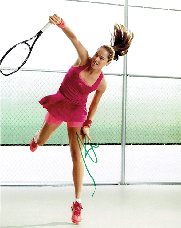 Ana Ivanovic Signed Photo