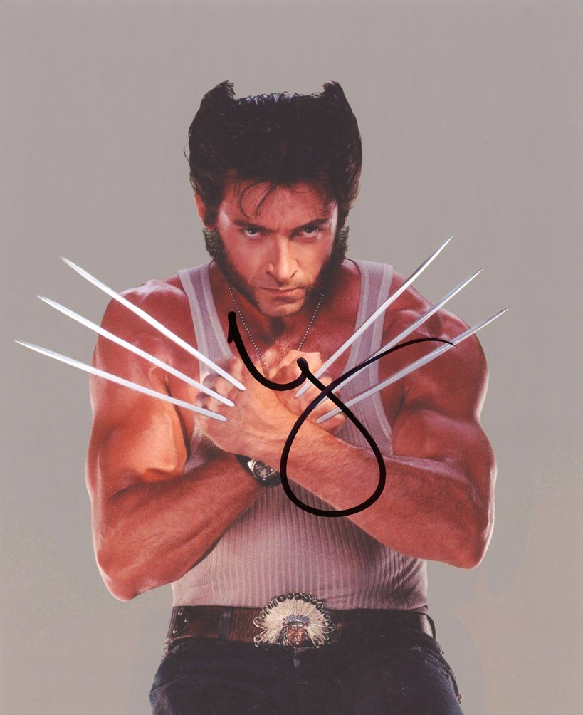 Hugh Jackman Signed Photo