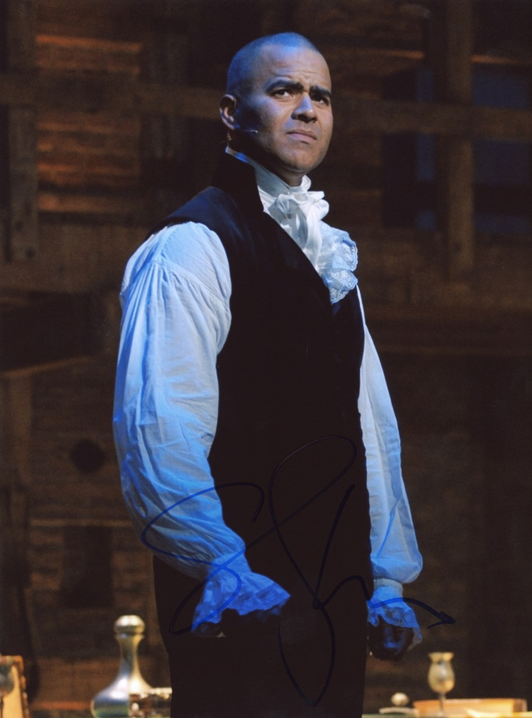 Christopher Jackson Signed Photo