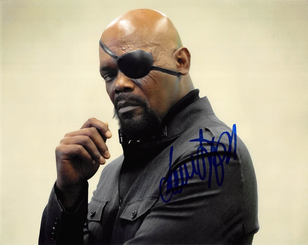 Samuel L. Jackson Signed Photo