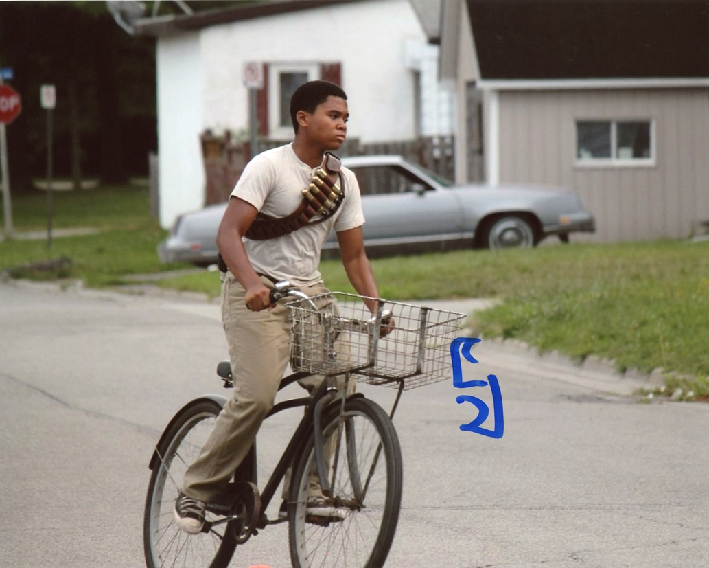 Chosen Jacobs Signed Photo