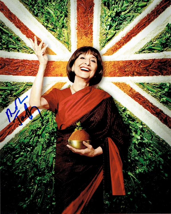 Madhur Jaffrey Signed Photo