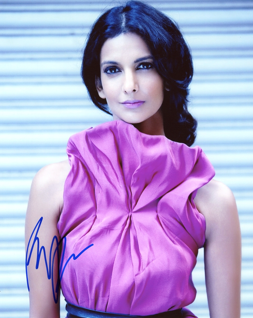 Poorna Jagannathan Signed Photo