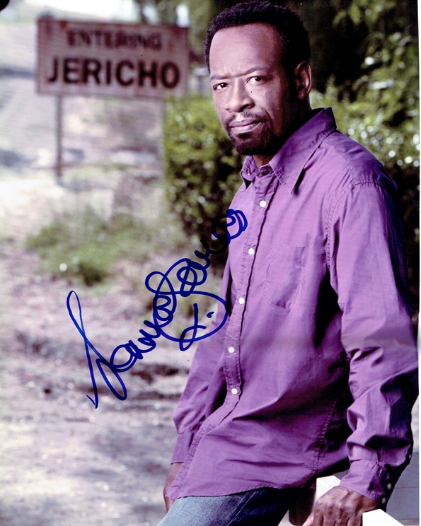 Lennie James Signed Photo