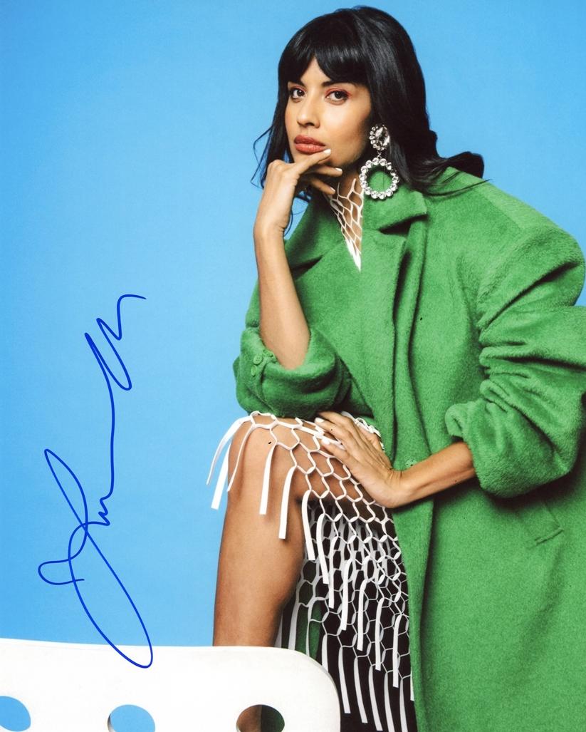 Jameela Jamil Signed Photo
