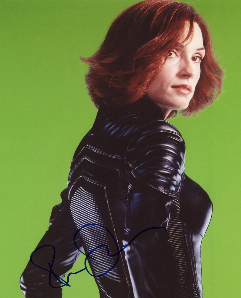 Famke Janssen Signed Photo