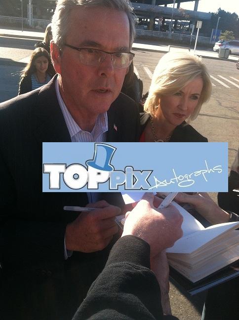 Jeb Bush Signing