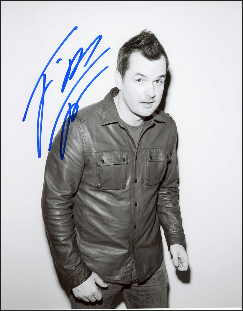 Jim Jefferies Signed Photo