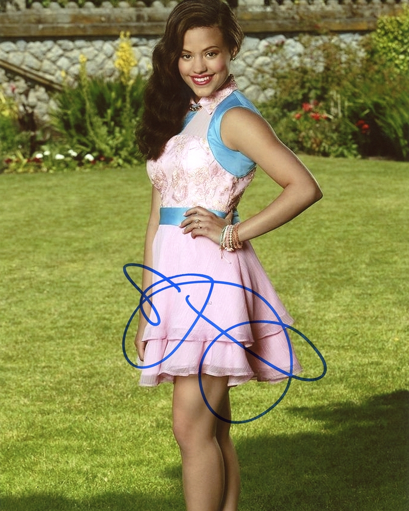 Sarah Jeffery Signed Photo