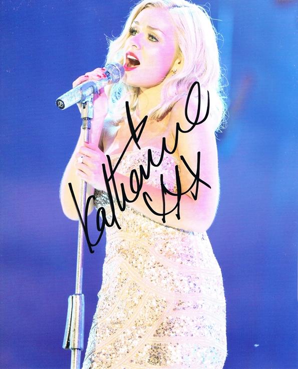 Katherine Jenkins Signed Photo