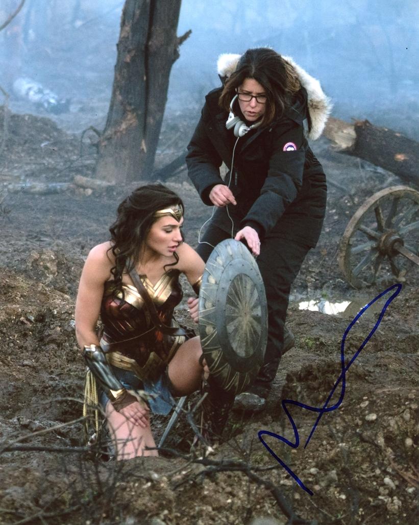 Patty Jenkins Signed Photo