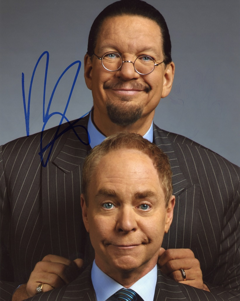 Penn Jillette Signed Photo