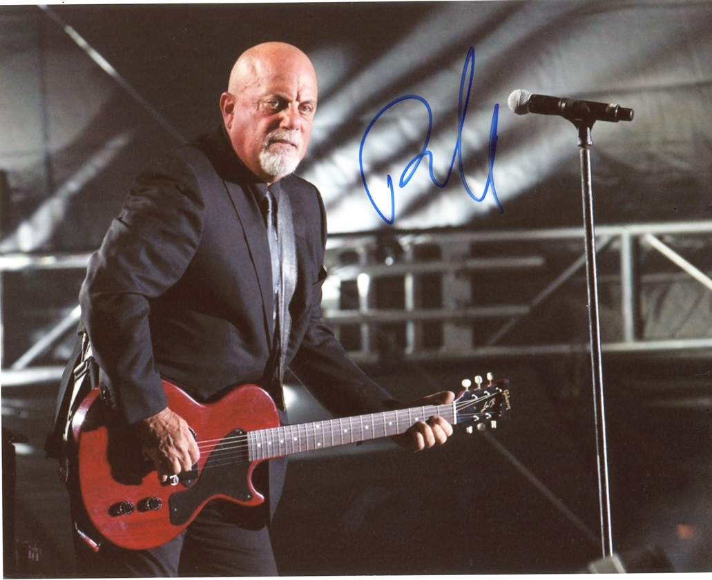 Billy Joel Signed Photo