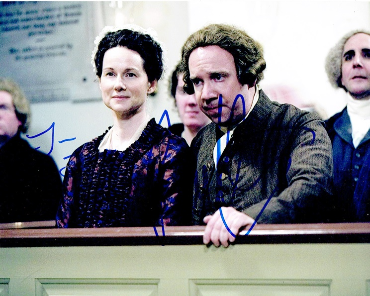 Paul Giamatti & Laura Linney Signed Photo