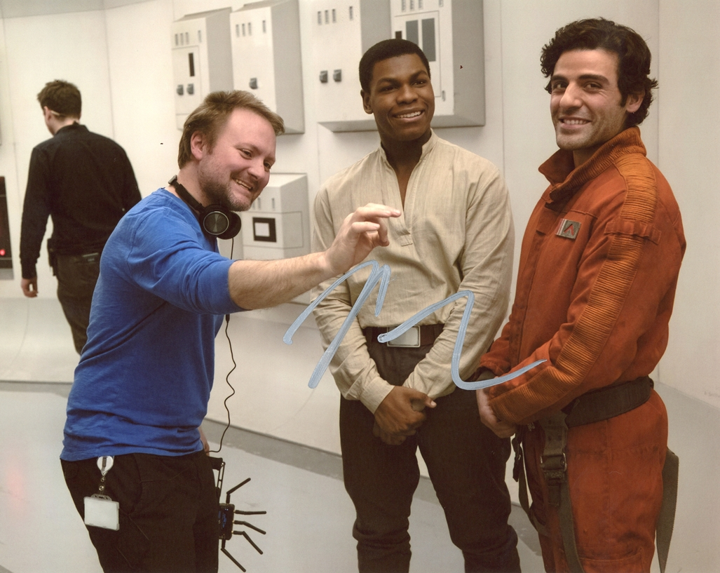 Rian Johnson Signed Photo