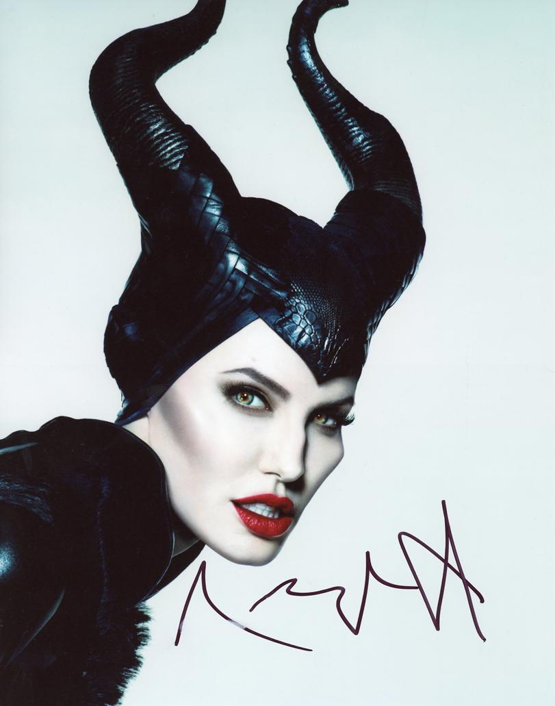 Angelina Jolie Signed Photo