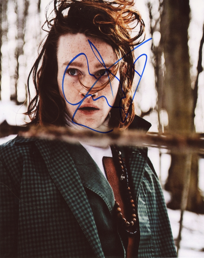 Caleb Landry Jones Signed Photo