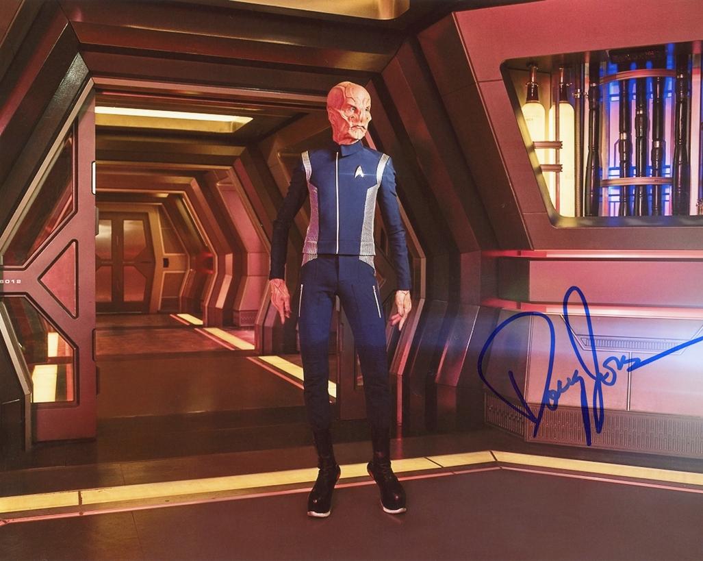 Doug Jones Signed Photo