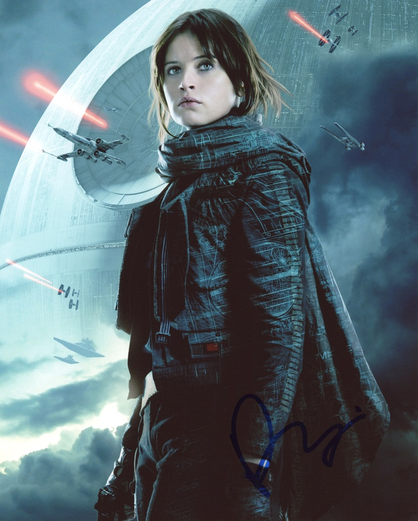 Felicity Jones Signed Photo