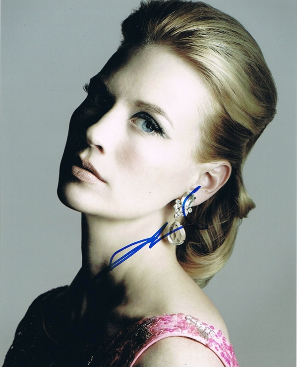 January Jones Signed Photo