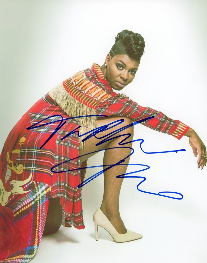 Ta'Rhonda Jones Signed Photo