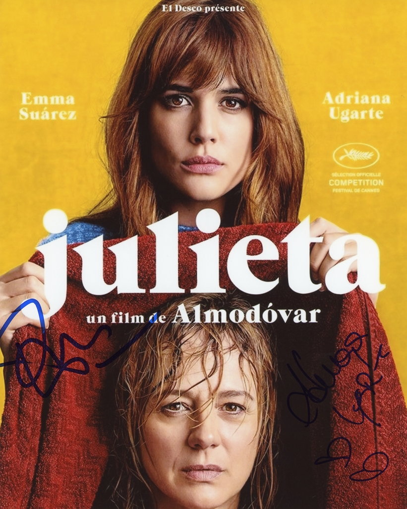 Adriana Ugarte & Emma Suarez Signed Photo
