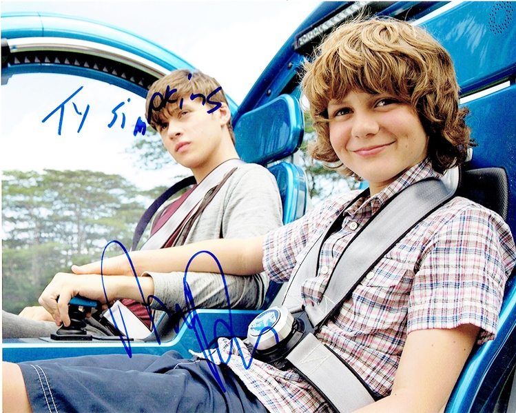 Ty Simpkins & Nick Robinson Signed Photo