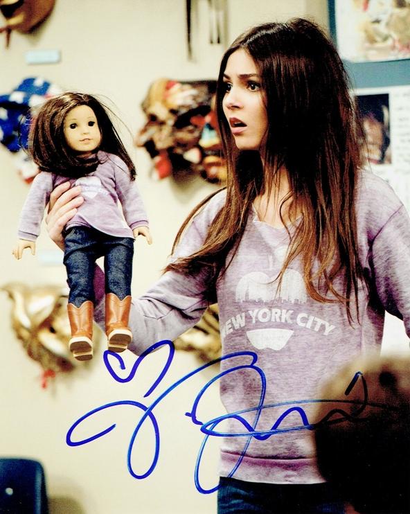 Victoria Justice Signed Photo