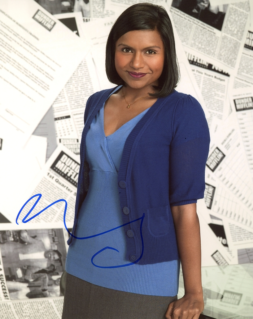 Mindy Kaling Signed Photo