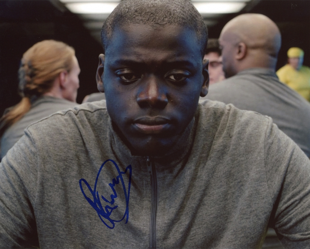 Daniel Kaluuya Signed Photo