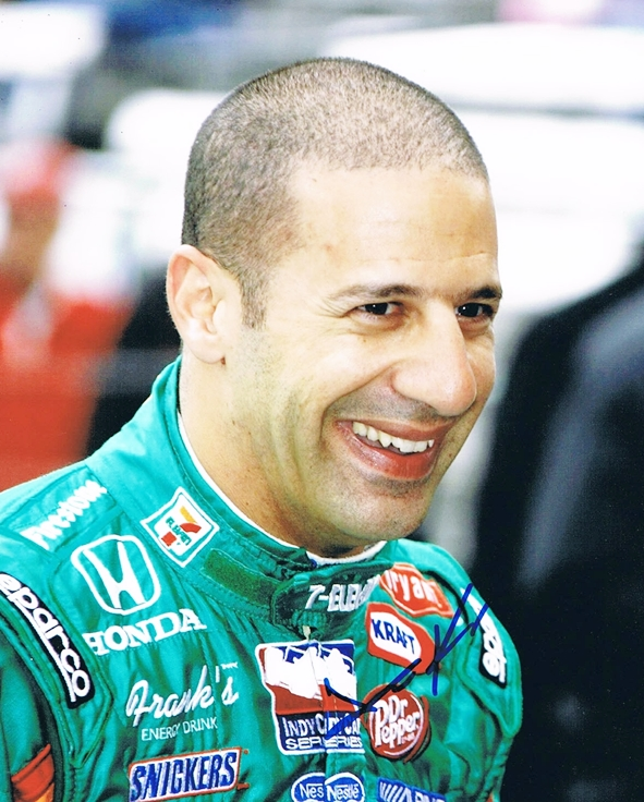 Tony Kanaan Signed Photo