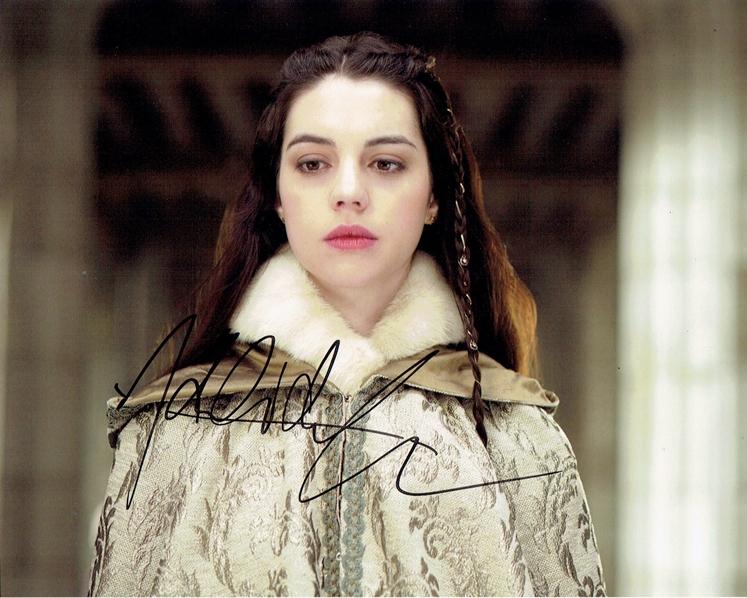 Adelaide Kane Signed Photo