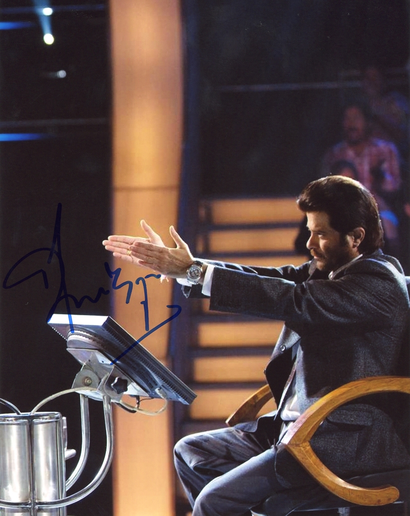 Anil Kapoor Signed Photo