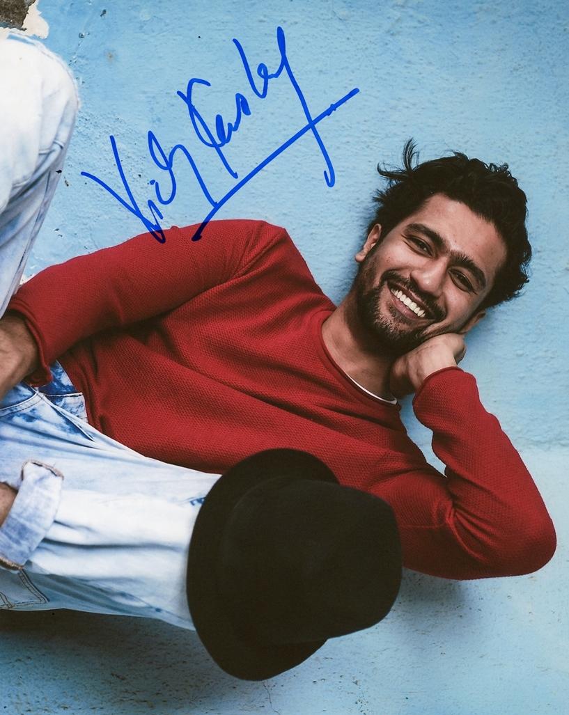 Vicky Kaushal Signed Photo