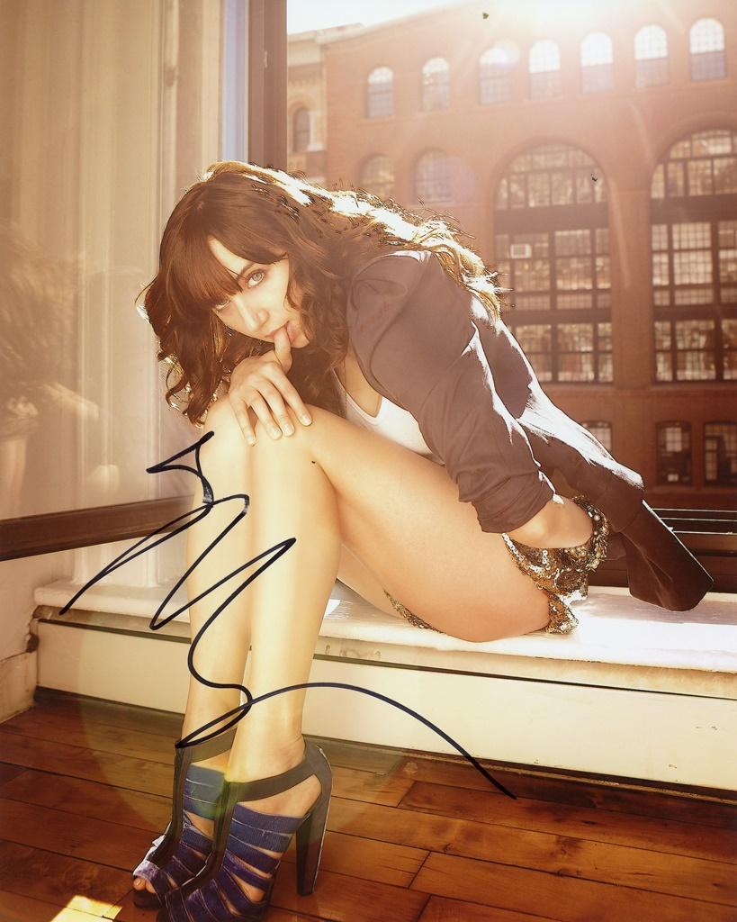 Zoe Kazan Signed Photo
