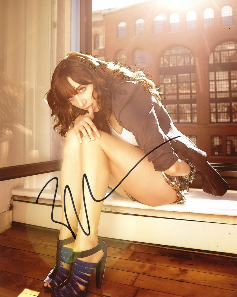 Zoe Kazan Signed Photo