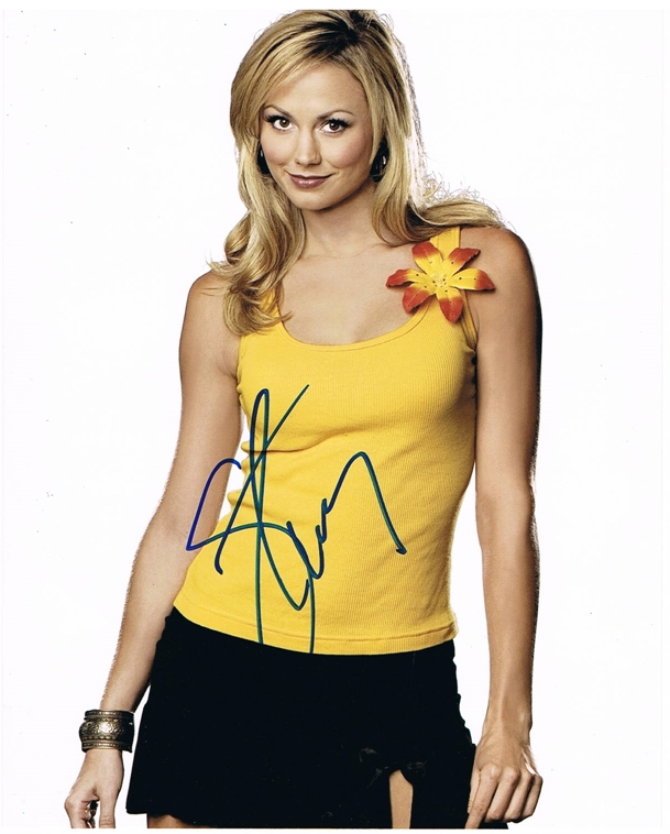 Stacy Keibler Signed Photo