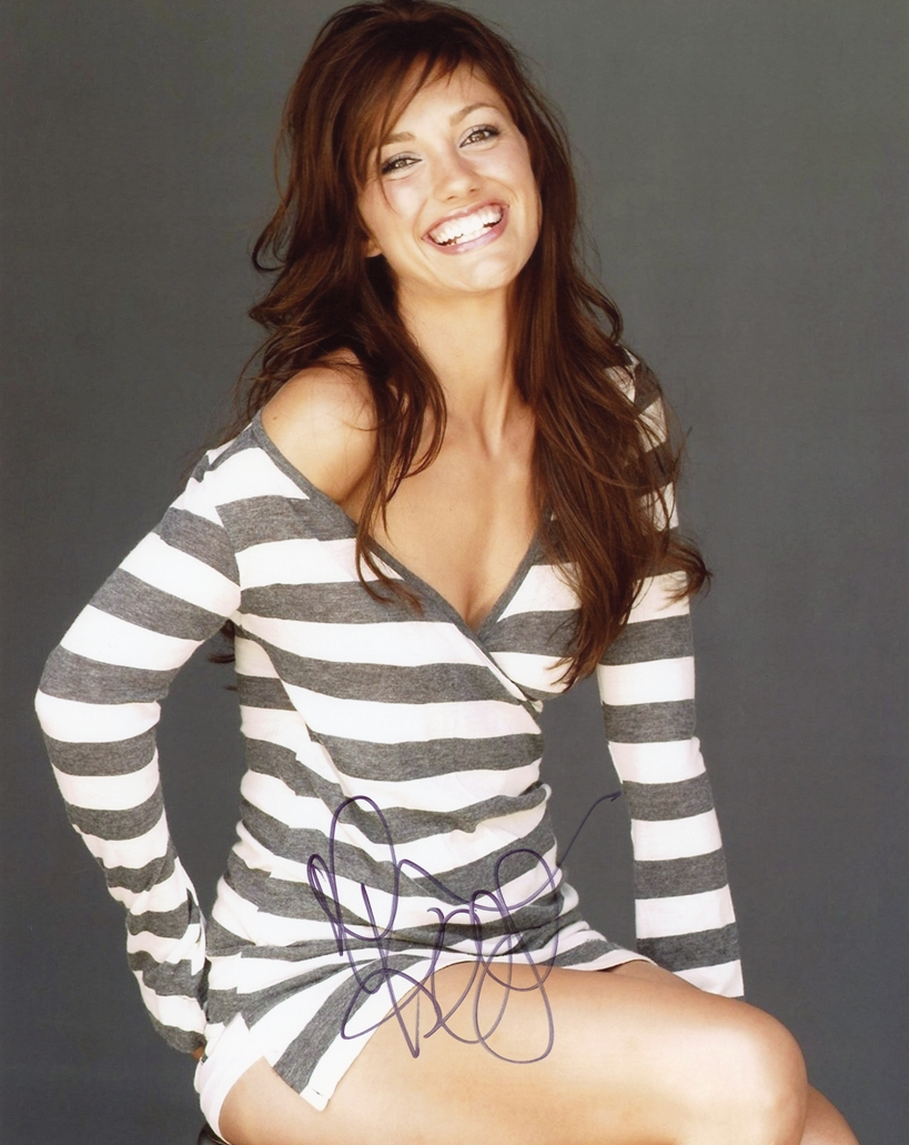 Minka Kelly Signed Photo