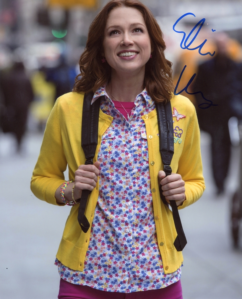 Ellie Kemper Signed Photo