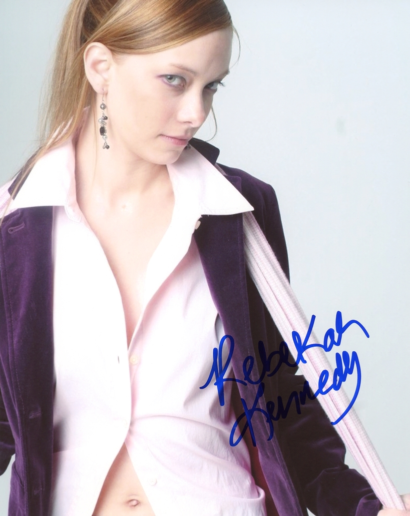 Rebekah Kennedy Signed Photo