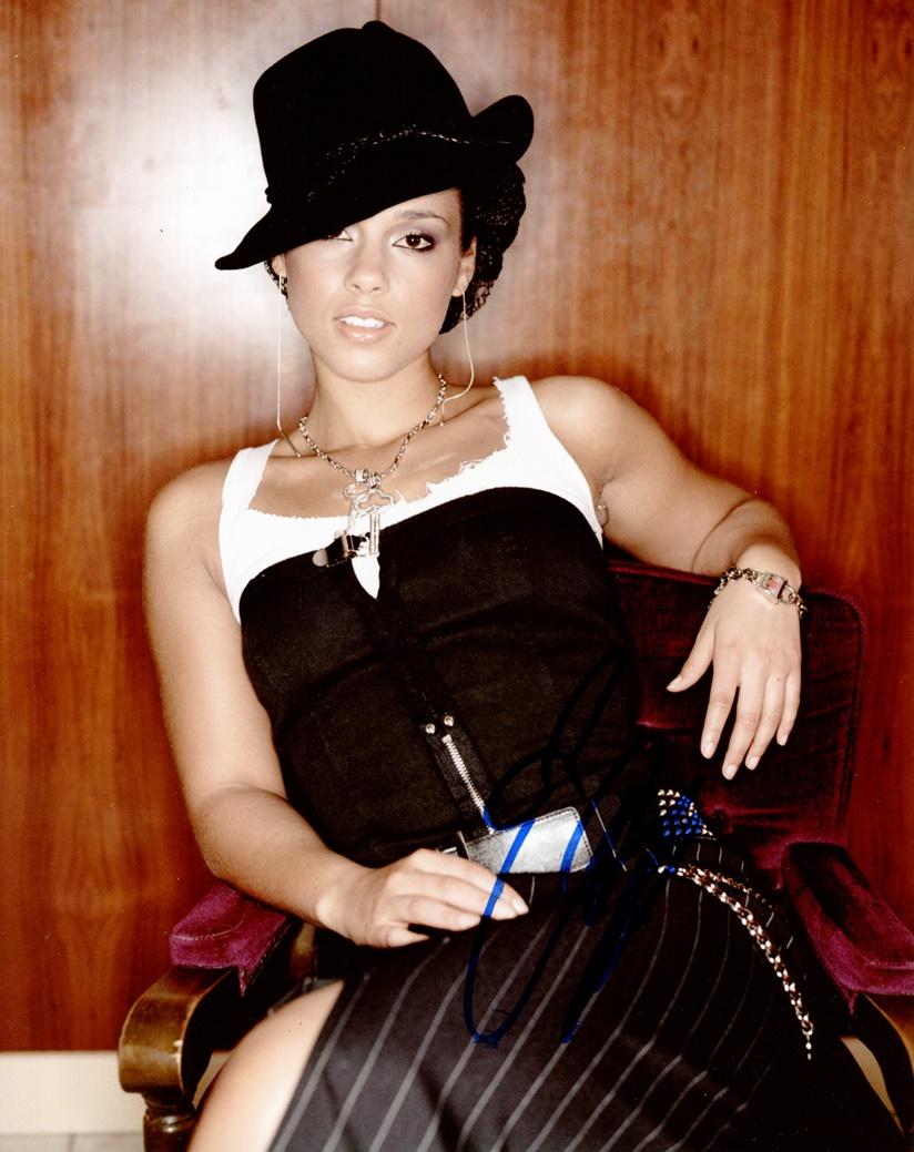 Alicia Keys Signed Photo