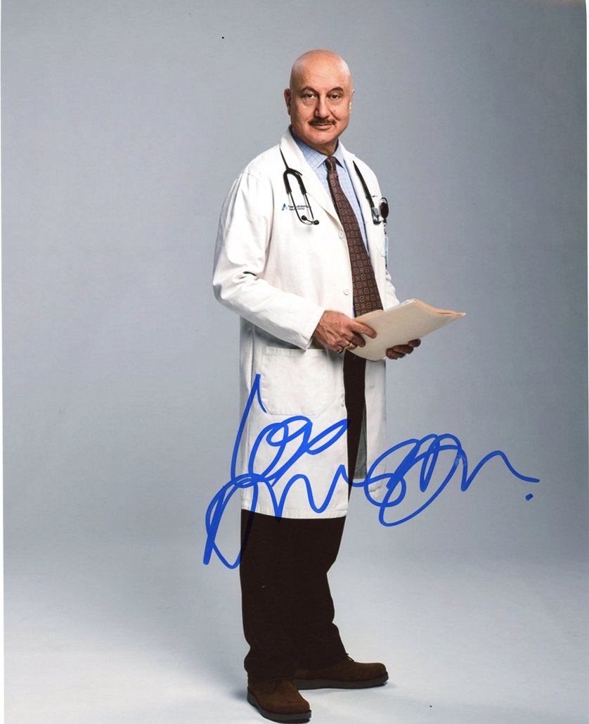 Anupam Kher Signed Photo